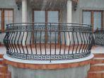 19 barierki zewnętrzne, balustrady, kowalstwo artystyczne kielce - Kowalstwo Artystyczne Kielce KOW-MET