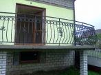 84 barierki zewnętrzne, balustrady, kowalstwo artystyczne kielce - Kowalstwo Artystyczne Kielce KOW-MET