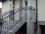 103 barierki zewnętrzne, balustrady, kowalstwo artystyczne kielce - Kowalstwo Artystyczne Kielce KOW-MET