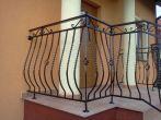 110 barierki zewnętrzne, balustrady, kowalstwo artystyczne kielce - Kowalstwo Artystyczne Kielce KOW-MET