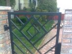 1 ogrodzenia, brama, kowalstwo artystyczne kielce - Kowalstwo Artystyczne Kielce KOW-MET