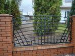 2 ogrodzenia, brama, kowalstwo artystyczne kielce - Kowalstwo Artystyczne Kielce KOW-MET