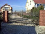 35 ogrodzenia, brama, kowalstwo artystyczne kielce - Kowalstwo Artystyczne Kielce KOW-MET