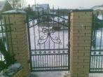 46 ogrodzenia, brama, kowalstwo artystyczne kielce - Kowalstwo Artystyczne Kielce KOW-MET
