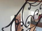 85 barierki wewnętrzne, balustrady, kowalstwo artystyczne kielce - Kowalstwo Artystyczne Kielce KOW-MET