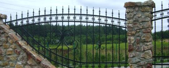 Ogrodzenia - Kowalstwo Artystyczne Kielce KOW-MET